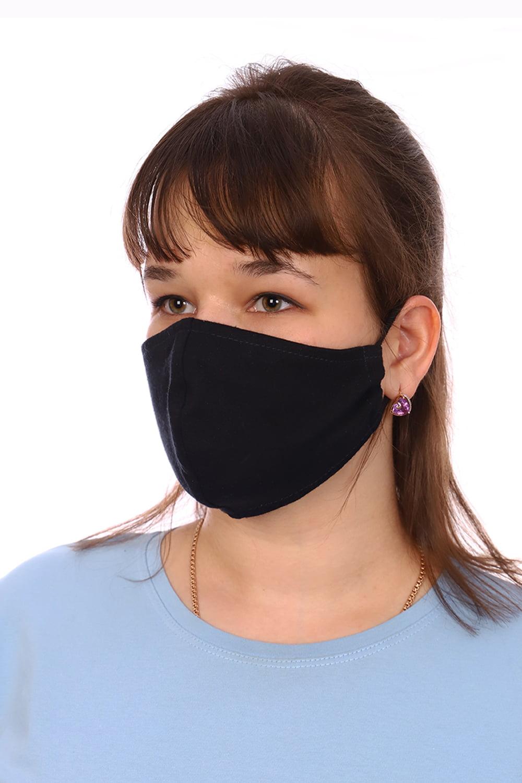 Гигиеническая маска чёрная