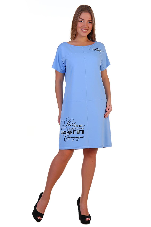 """Платье """"Нелли"""" небесно-голубой"""