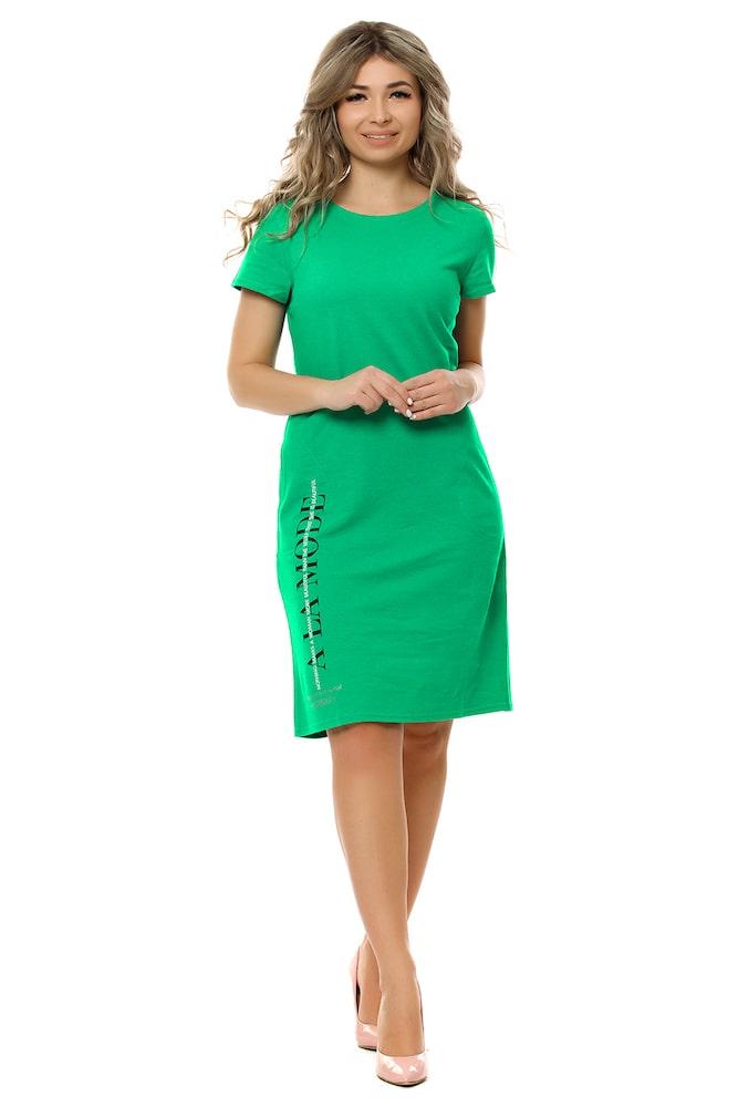 """Платье """"Модница"""" зеленый"""